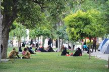 22 پارک قزوین مورد بازپیرایی قرار گرفته است