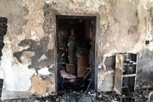 اداره اوقاف و امور خیریه شهرستان ماهشهر و هندیجان توسط افراد ناشناس به آتش کشیده شد