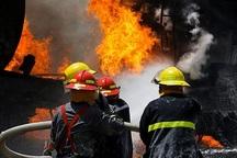 آتش در منزل مادر و کود را روانه بیمارستان کرد
