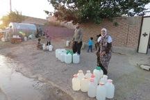 آب روستای رضا آباد بیارجمند قطع شده است