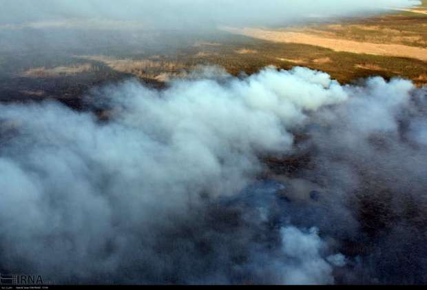 آتش سوزی در هورالعظیم با گذشت بیش از 70 روز ادامه دارد