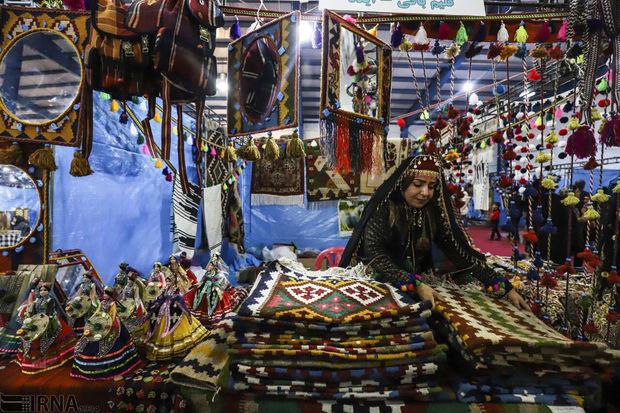 نمایشگاه صنایع دستی در سلسله برپا شد
