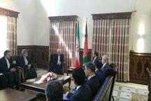 دیدار ظریف با همتای افغانی/رایزنی پیرامون خطر تروریسم