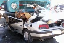 تصادف رانندگی در آبیک 2 کشته به جا گذاشت