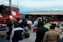 کمکهای بانوان به سیلزدگان در مهدیه اردبیل جمع آوری میشود