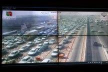 ترافیک در محورهای استان تهران پرحجم است