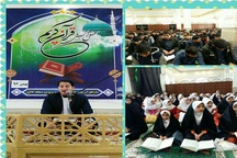 برگزاری محفل انس با قرآن باحضور قاریان برجسته کشوری در کاکی بوشهر