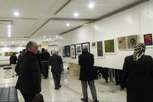 نمایشگاه فروش آثار هنری در تبریز گشایش یافت