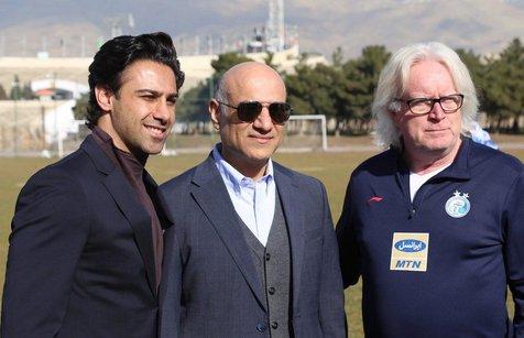 قرارداد فرهاد مجیدی با استقلال امضا شد+ عکس