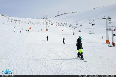 پایان کار اسکی باز ایران در مارپیچ بزرگ قهرمانی جهان