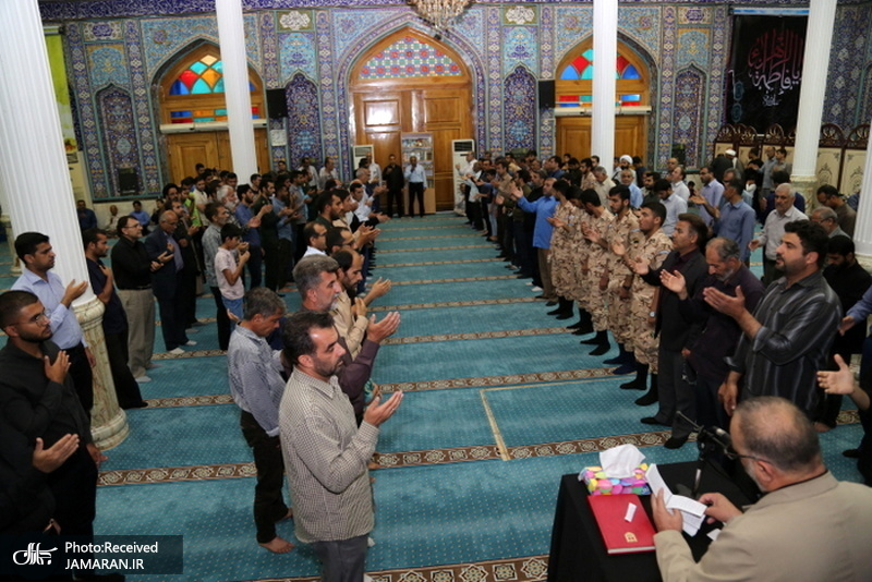 مراسم بزرگداشت امام خمینی(س) در جزیره خارگ