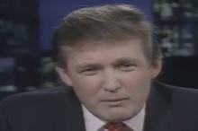 وقتی ترامپ ۳۰ سال پیش در یک برنامه تلویزیونی چندین بار نام خلیج فارس را میآورد