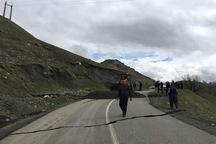 جاده اسماعیل آباد-الولک بازگشایی شد