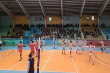 شکست تیم والیبال شهرداری قزوین مقابل همنام ارومیه ای