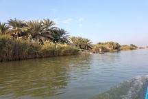 برپایی بازارچه صنایع دستی در کنار تالاب شادگان