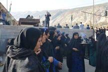 مویهخوانی و شیون مادران دلتنگ قصرشیرینی در سوگ حسین (ع)
