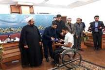 مدال آوران خوزستانی درمسابقات پارآسیایی پاداش دریافت می کنند