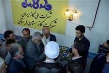 بهره برداری از طرح گازرسانی به 7 روستای بروجرد با حضور استاندار