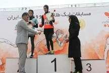 درخشش دختران گلستان در مسابقات لیگ طلایی دو و میدانی