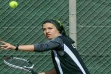 بانوی ملی پوش تنیس ارومیه در تلاش برای کسب سهمیه جاکارتاست