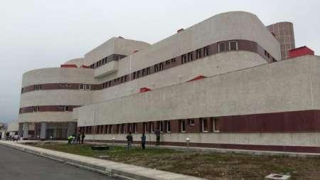 سقف فروریخته بخش اطفال بیمارستان آستارا تعمیر شد
