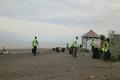 جمع آوری سه تن زباله از نوار ساحلی آستارا