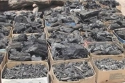 بیش از سه تن زغال قاچاق در کرمانشاه کشف شد
