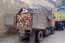 امسال 70 تن چوب قاچاق در مهاباد کشف شده است