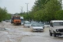 بارندگی در آبادان باعث آبگرفتگی معابر شد