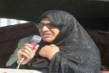نخستین بخشدار زن در بخش مرکزی شهرستان زاهدان منصوب شد