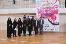 تیم کاراته دختران یزد قهرمان المپیاد ورزشی این استان شد