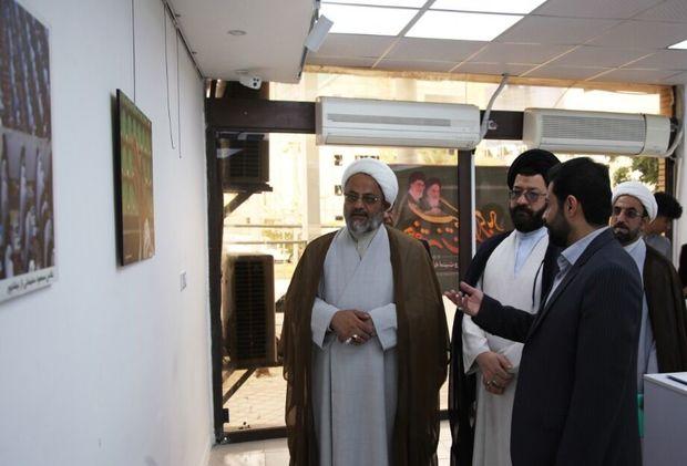 """نمایشگاه عکس """"نماز"""" در بوشهرگشایش یافت"""