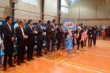 مسابقات بدمینتون دختران کشور در قاینات برگزار شد