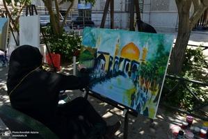 کارگاه تصویرگری با موضوع امام خمینی(س)