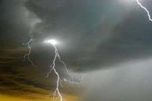 رعد و برق استان مرکزی را فرا می گیرد