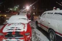 نجات 144مسافر گرفتار در برف و کولاک آذربایجان شرقی