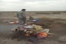 دستگیری یک متخلف صید پرندگان در سبزوار