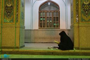 مراسم احیای شب نوزدهم ماه مبارک رمضان در آستان مقدس حضرت عبدالعظیم حسنی(ع)
