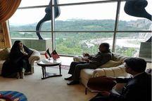 دیدار معصومه ابتکار فرستاده ویژه رییس جمهور روحانی با ماهاتیر محمد