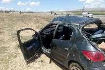 واژگونی خودرو در محور بروجرد - ملایر یک کشته و2 زخمی برجای گذاشت