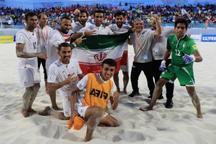 هشت بوشهری به اردوی تیم ملی فوتبال ساحلی دعوت شدند