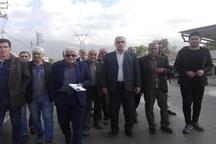 توزیع عادلانه آب کشاورزی در دشت امام زاده جعفر