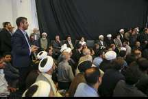 نمایندگان رهبری در آیین تشییع آیت الله ایمانی حضور یافتند