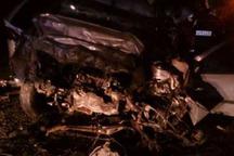 حادثه رانندگی درمحور اراک به ازنا 2 کشته و یک مصدوم داشت