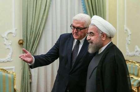تبریک رئیسجمهوری آلمان به روحانی