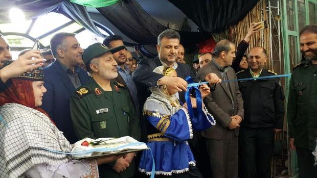 نمایشگاه دستاوردهای چهل ساله بسیج در مازندران گشایش یافت