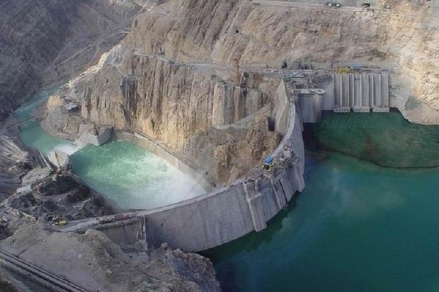 حجم آب سد کوثر گچساران 100میلیون متر مکعب کاهش یافت