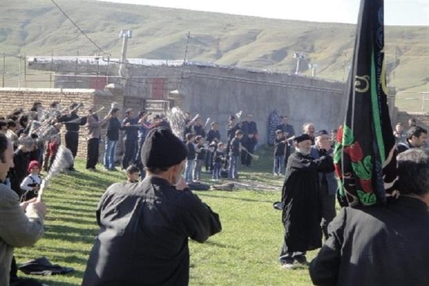 آیین های عزاداری محرم در روستاهای استان اردبیل
