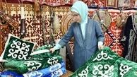 همسر اردوغان در نمایشگاه صنایع دستی+ تصاویر