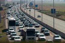 ترافیک سنگین در آزاد راههای استان قزوین
